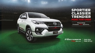 Toyota Fortuner TRD Sportivo
