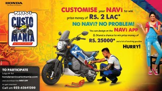 Honda Navi custom build competition