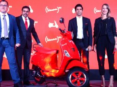 VESPA RED launched in India