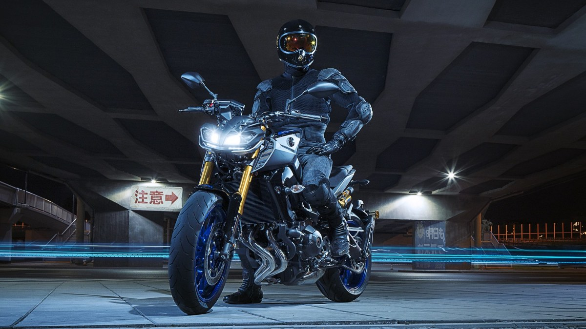 The MT 09 SP Has Adjustable Front Forks Where Both Legs Can Be Adjusted For Rebound And Compression Damping This Difference Allows More Fine Tuning Of