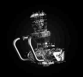 Royal Enfield 650cc Twin Engine internals