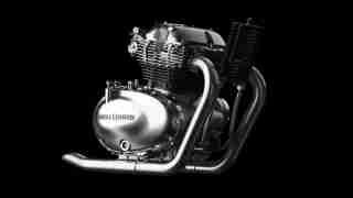 Royal Enfield 650cc Twin Engine RHS view