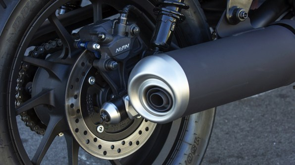 Honda Rebel 300 silencer exhaust