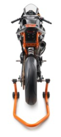 KTM RC390 R with SSP300 race kit back view
