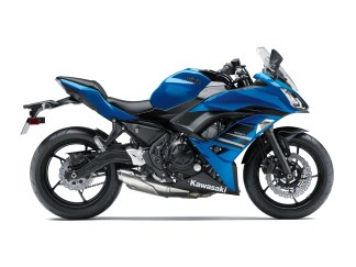 Kawasaki Ninja 650 blue colour option