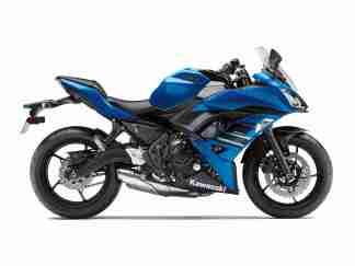 Kawasaki Ninja 650 blue colour option
