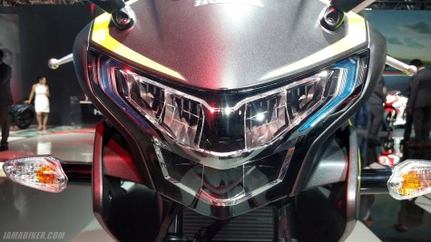 2018 Honda CBR 250R led headlights