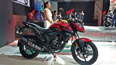 Honda XBlade side view