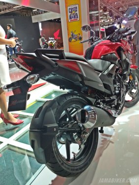 Honda XBlade back view