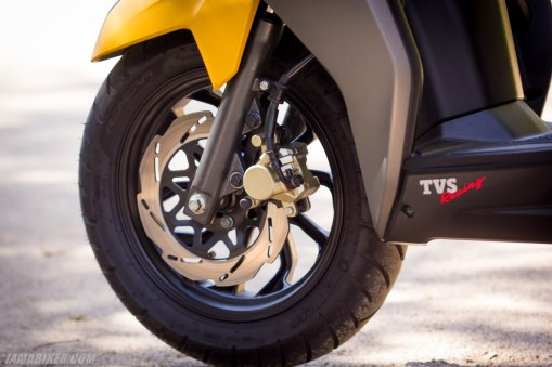 TVS NTORQ 125 petal disc brake