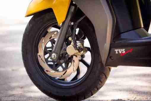 TVS NTORQ 125 petal disc brake