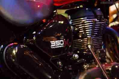 Thunderbird 350X engine