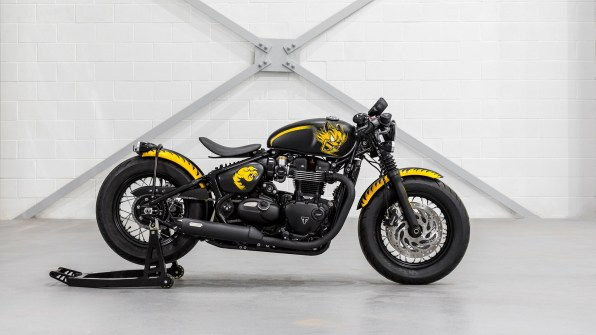 Triumph Bobber spirit of 59 HD wallpaper