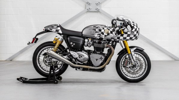Triumph Thruxton R Spirit of 59 HD wallpaper