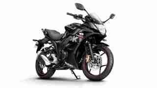 2018 Suzuki Gixxer SF Black colour option