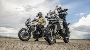 2018 Triumph Tiger 800 XC and XR