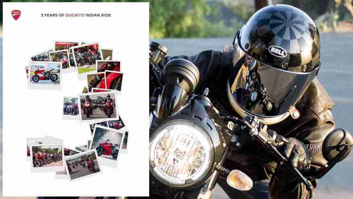 Ducati India 3 years