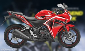 Honda CBR 250R Sports Red colour option