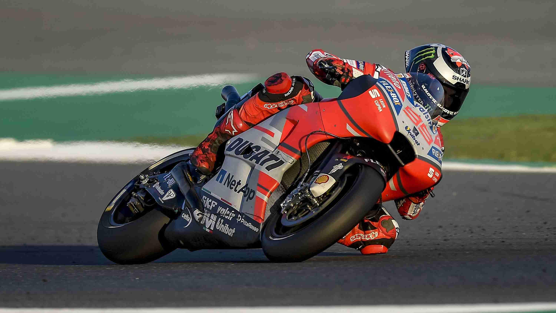Jorge Lorenzo Ducati MotoGP Qatar