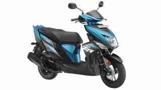 Yamaha Ray ZR Maverick Blue colour option