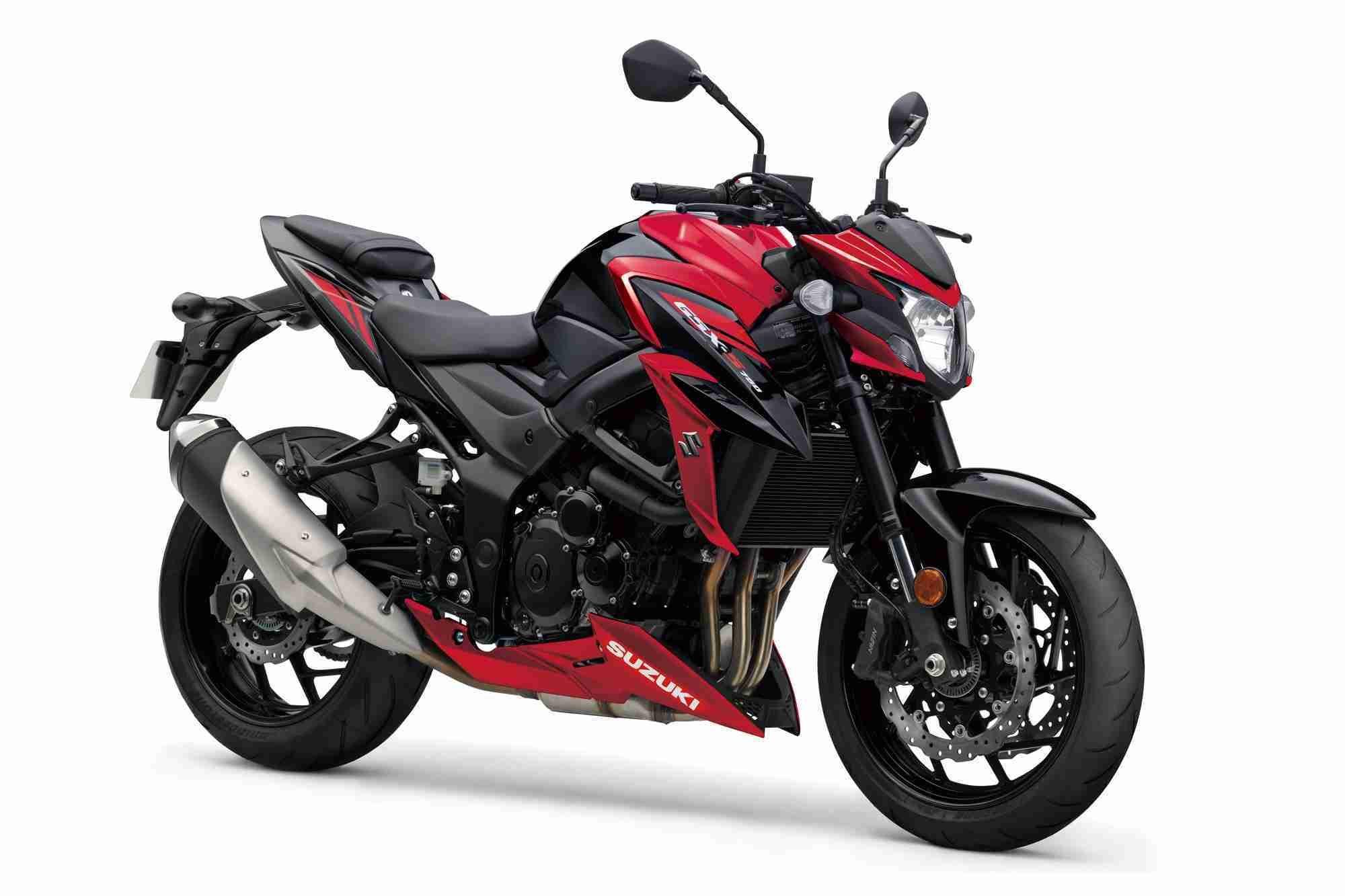 Suzuki GSX-S750 Red colour option