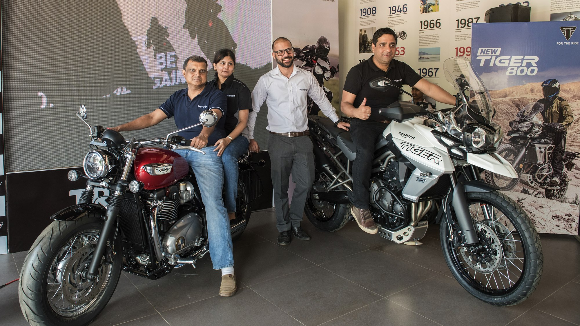 Triumph Motorcycles now in Mangalore