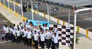 Yamaha's Chennai factory Solar Power Plant