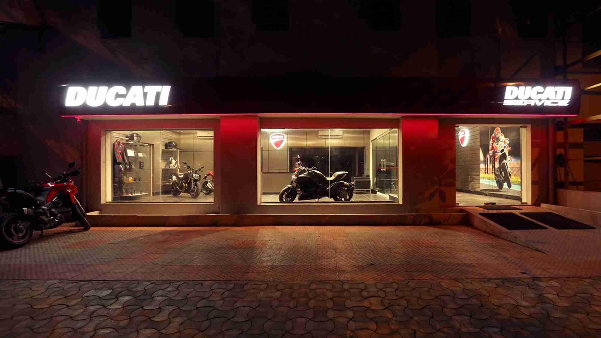 Ducati Chennai showroom