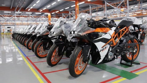 KTM factory - Auto Sector