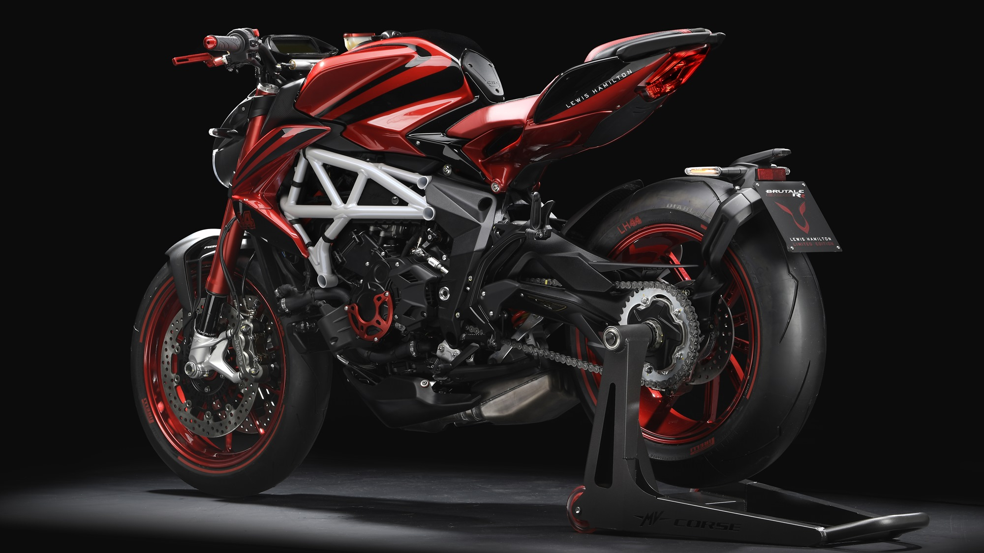 mv agusta brutale 800 rr lh44 hd wallpaper | iamabiker