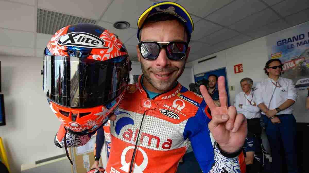 Danilo Petrucci moves to the factory Ducati team