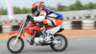 IDEMITSU Honda India Talent Hunt on CRF 50