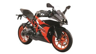 New black colour option for the KTM RC 200 announced