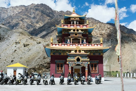 """""""If you don't believe heaven exists on earth, explore the surreal Spiti Valley."""""""
