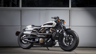 Harley Davidson FUTURE CUSTOM MODEL