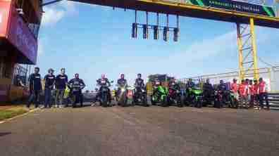 Kawasaki owners track day
