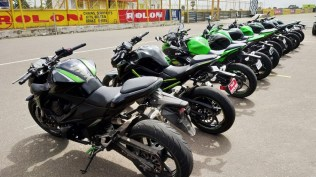 Kawasaki track day for owners