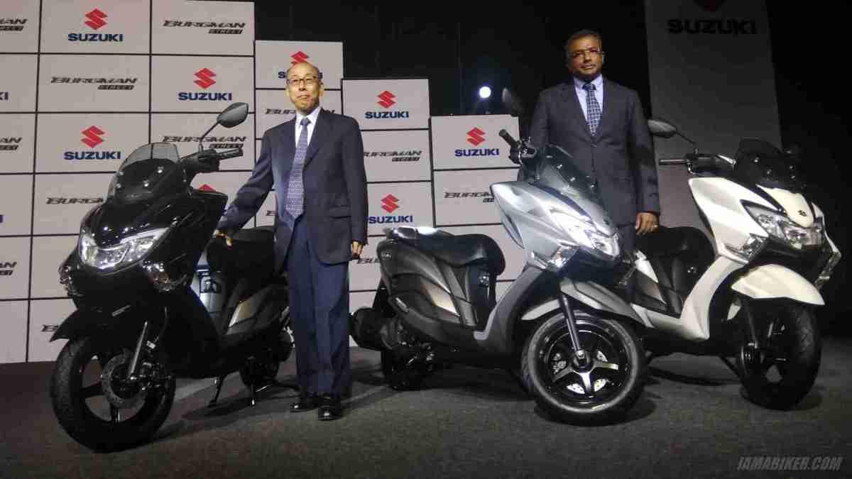 Suzuki Burgman Street priced at Rs 68000