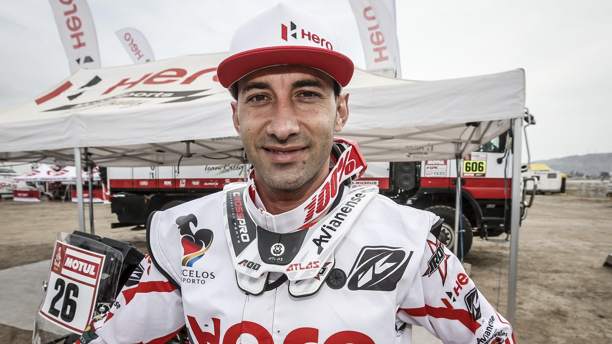 Joaquim Rodrigues, Rider, Hero MotoSports Team Rally