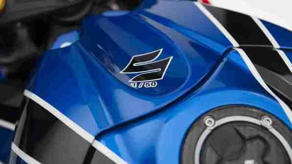 Limited edition Buildbase Suzuki replica GSX-R1000R