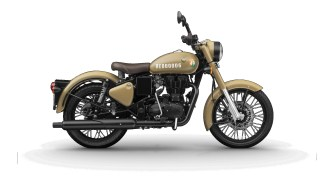 Royal Enfield Signals Stormrider Sand colour option