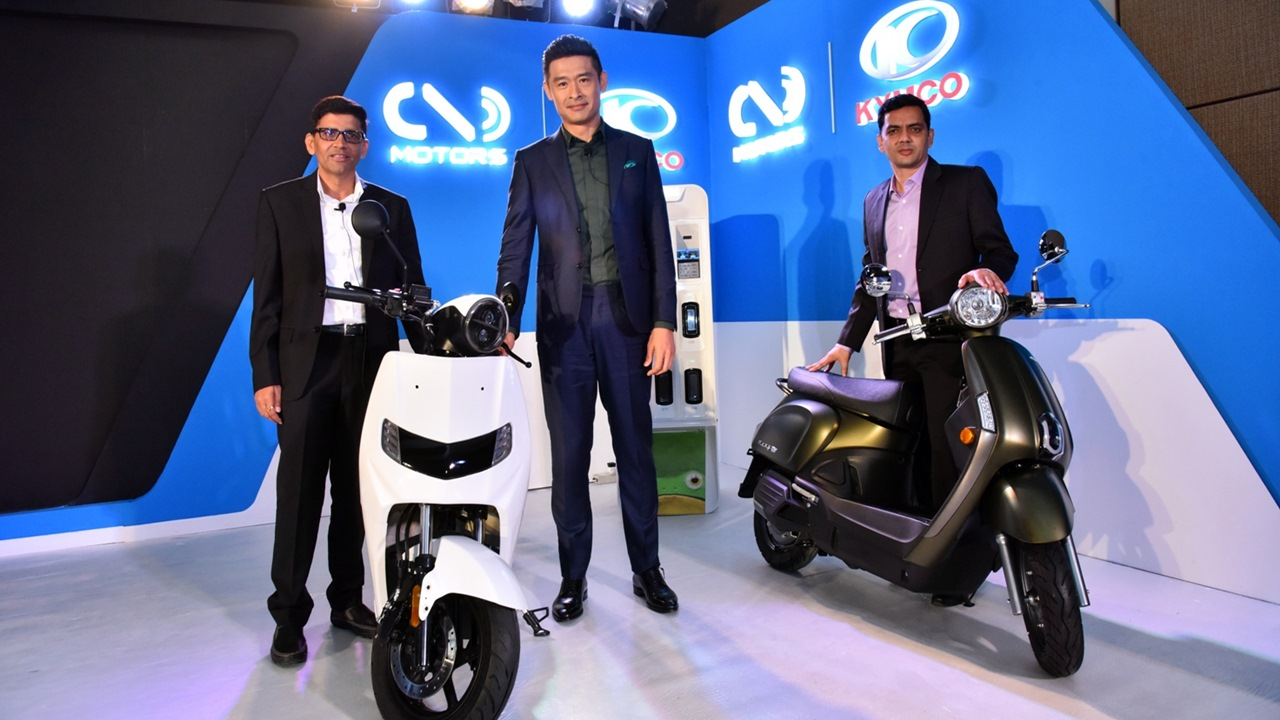 Twenty Two Motors and KYMCO announce partnership in India