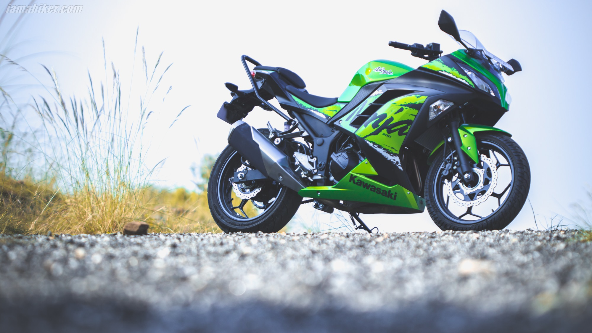2019 Kawasaki Ninja 300 ABS HD wallpapers