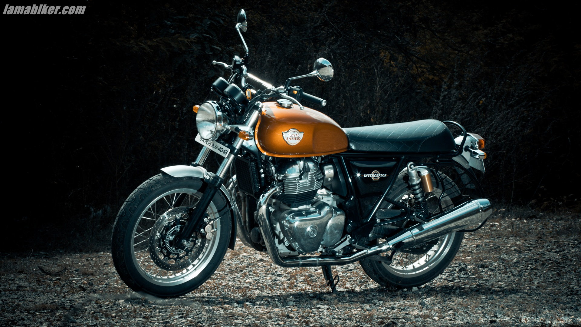 Royal Enfield Interceptor 650 HD wallpapers | IAMABIKER - Everything