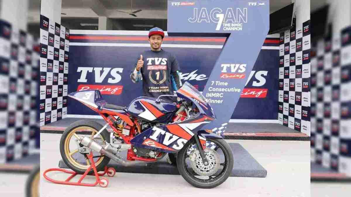 Jagan Kumar wins National Championship for the 7th time