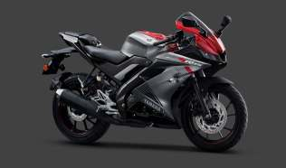 Yamaha R15 V3 gets Dual Channel ABS Grey Red