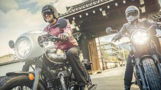 2019 Kawasaki W800 Cafe and Street