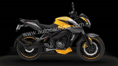 Yellow is back on the Pulsar NS 200