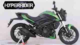 2019 Dominar 400 UG green