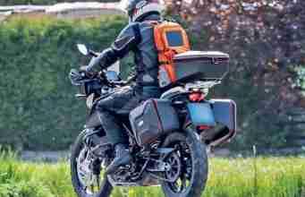 KTM 390 Adventure spy shot
